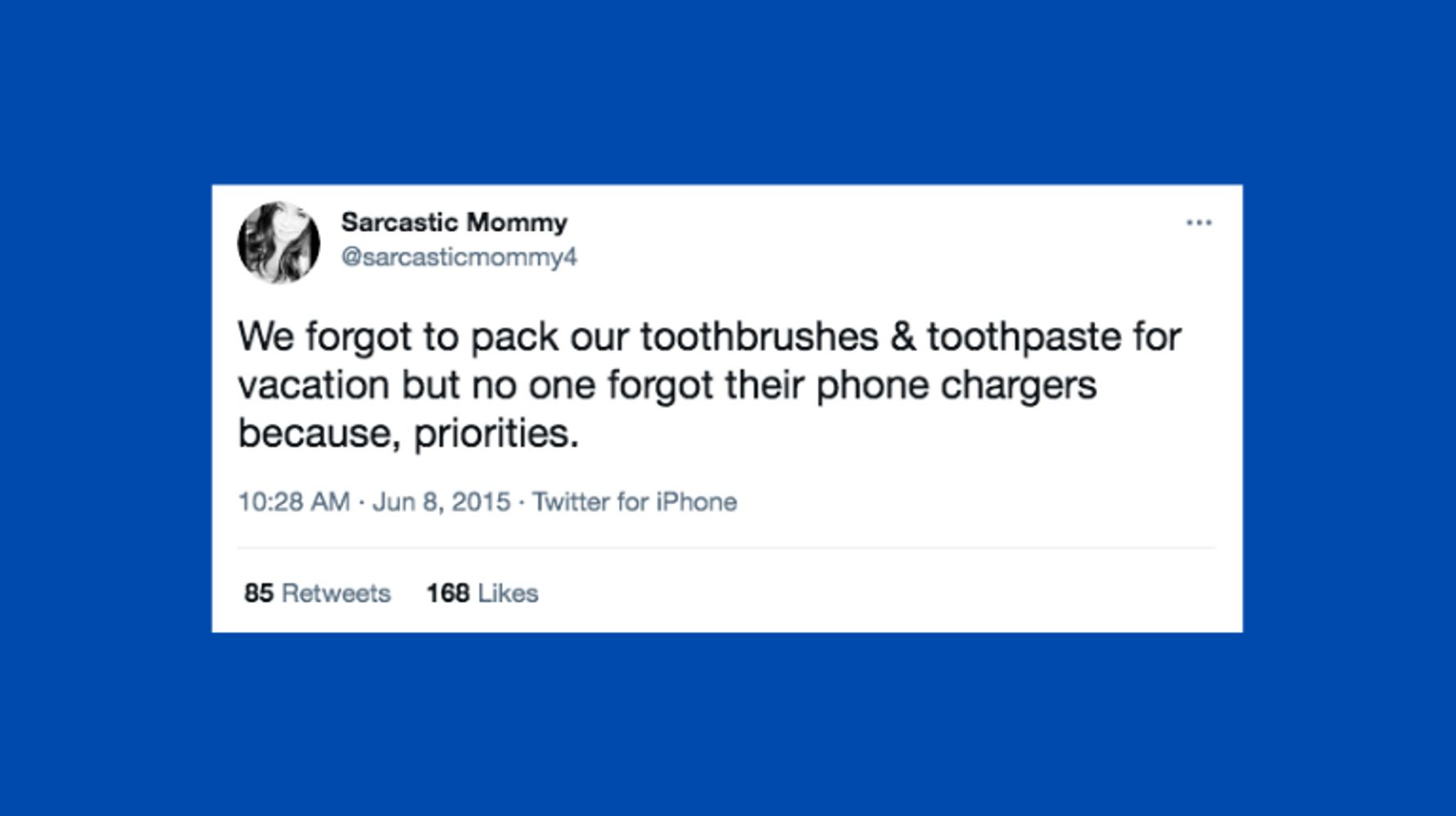Funny Tweets About The Things You Forget To Pack