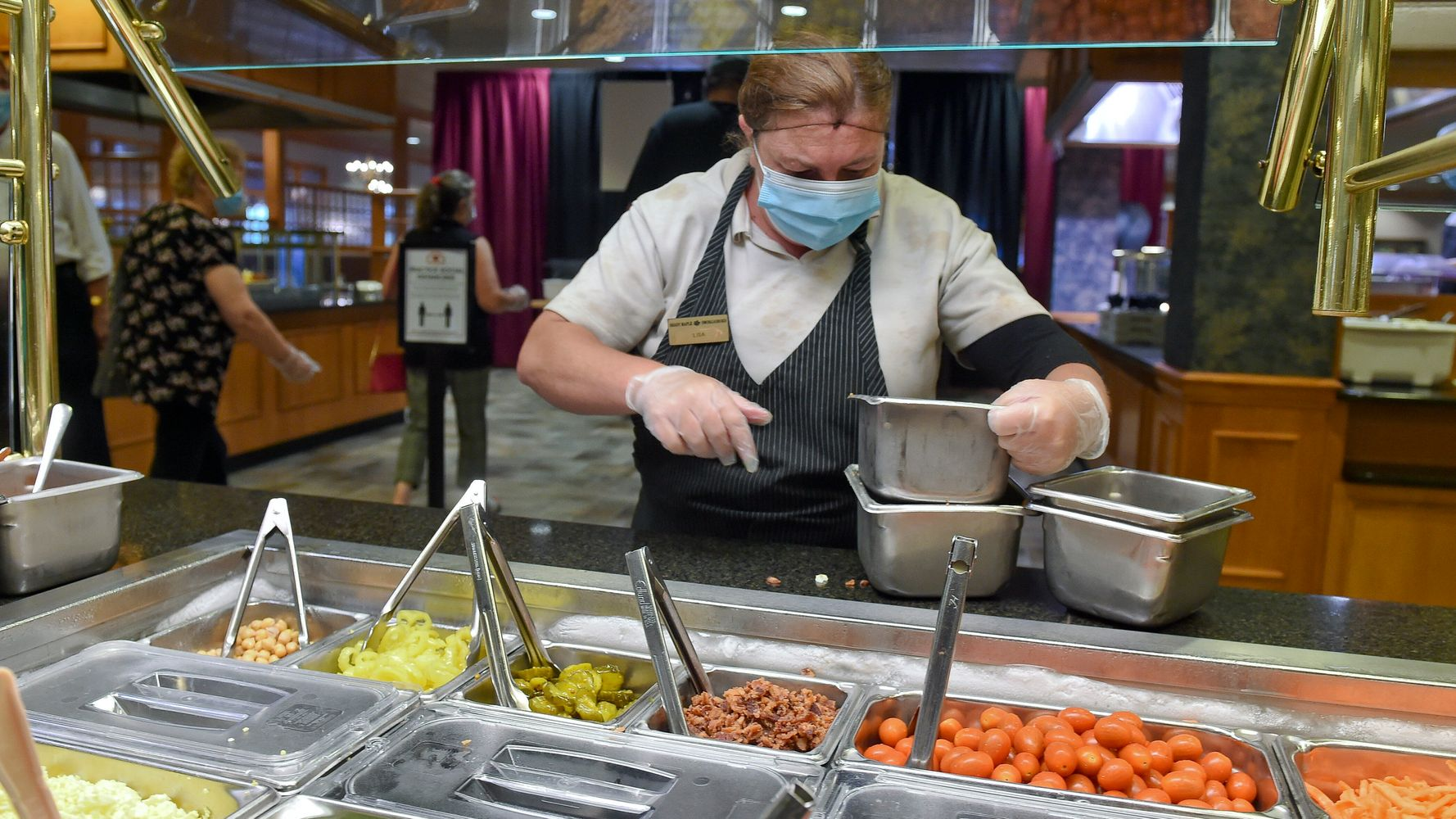 Now That Buffets Are Open, What Are They Doing To Keep Us Safe From COVID-19?