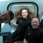 SpaceX's 1st Tourists Splash Down In The Atlantic Off Florida